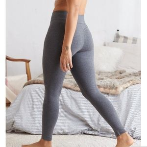 Aerie Chill Heathered Grey High Waisted Leggings